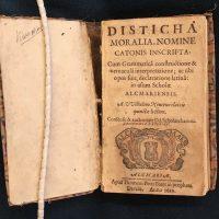 Alkmaars schoolboekje uit 1629, met verrassing!