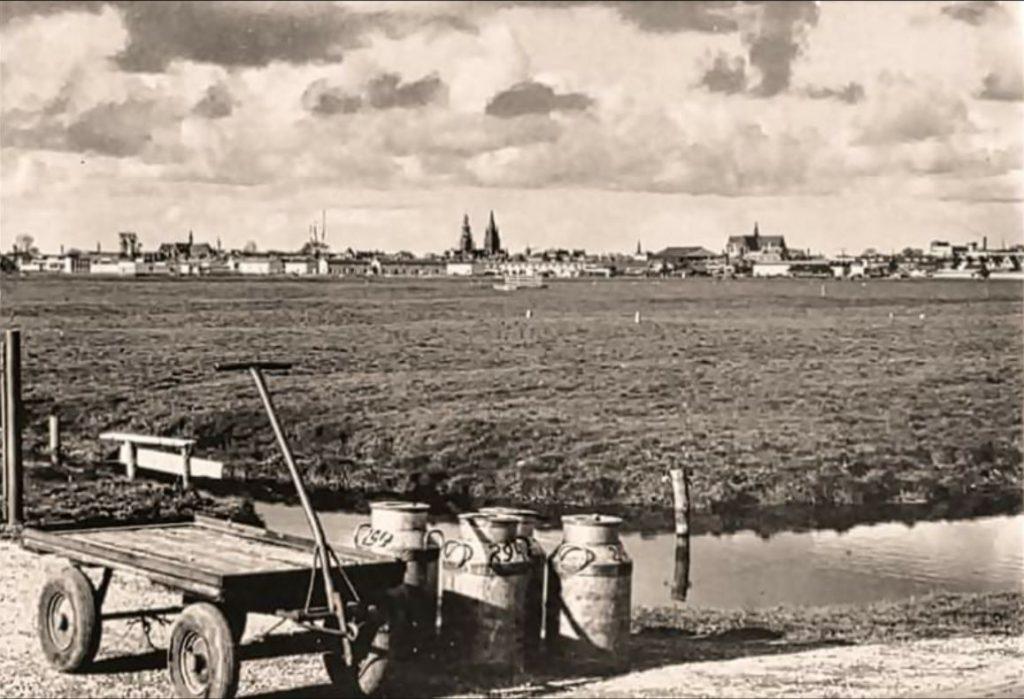 foto Oudorperpolder 1968 door Henk Dogger